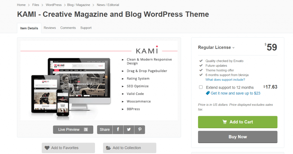 plantilla-kami-wordpress